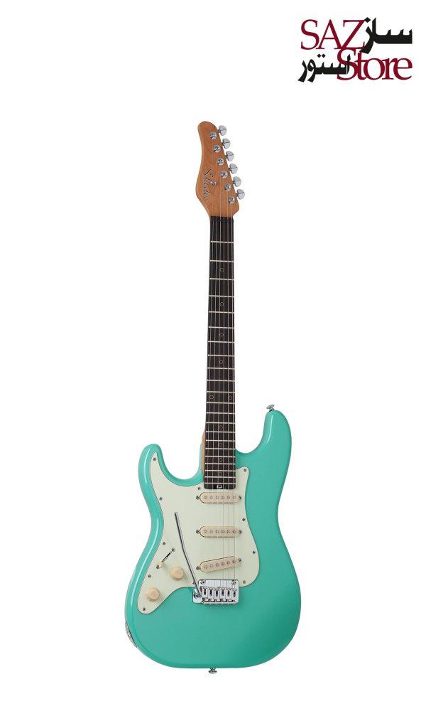 گیتار الکتریک Schecter Nick Johnston Traditional LH Atomic Green