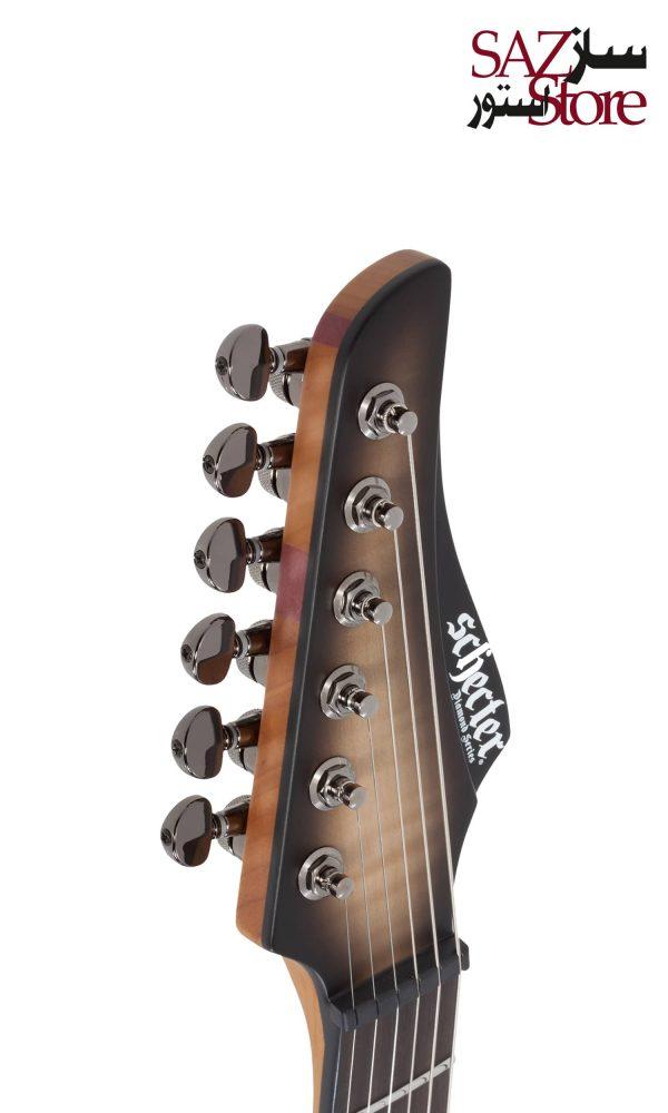 گیتار الکتریک چپ دست Schecter Banshee Mach-6 LH Ember Burst