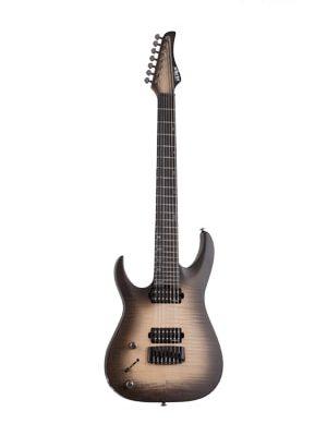 گیتار الکتریک چپ دست Schecter Banshee Mach-7 LH Ember Burst