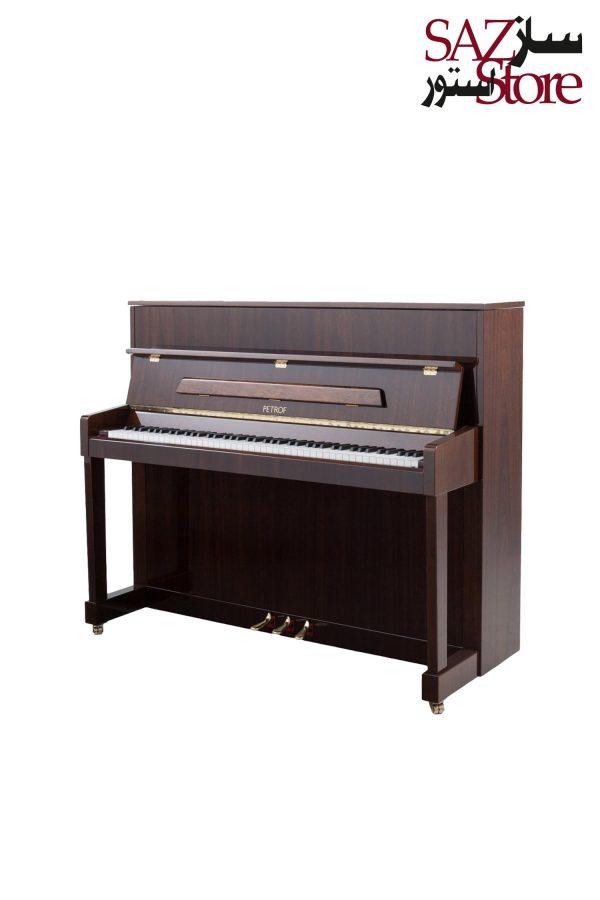 پیانو آکوستیک PETROF P 118 M1 High Polish Walnut