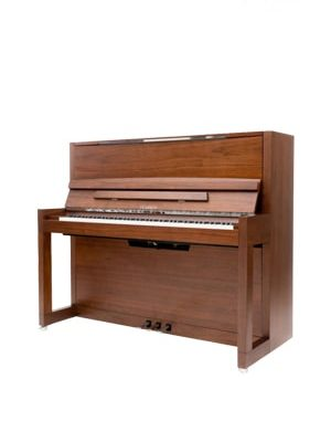 پیانو آکوستیک FEURICH 123 – VIENNA Satin Walnut