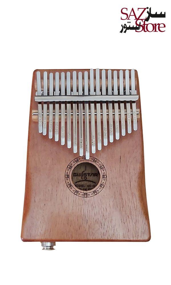 کالیمبا چوبی 17تیغه GUISTAR
