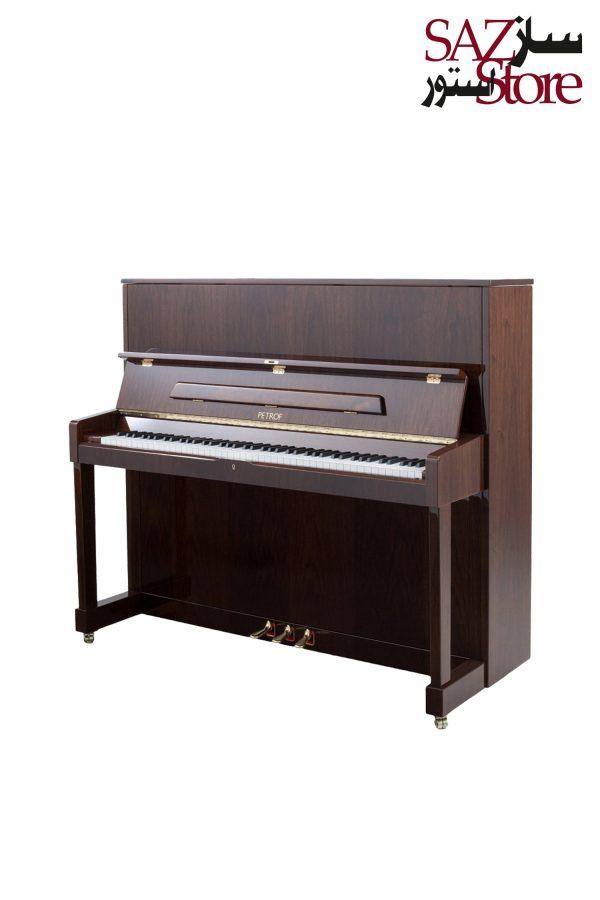پیانو آکوستیک PETROF P 125 M1 High Polish Walnut