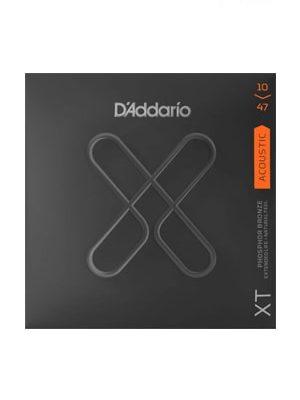 سیم گیتار آکوستیک D'Addario XT Acoustic Phosphor Bronze 10-47
