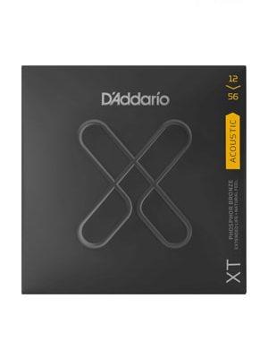 سیم گیتار آکوستیک D'Addario XT Acoustic Phosphor Bronze 12-56