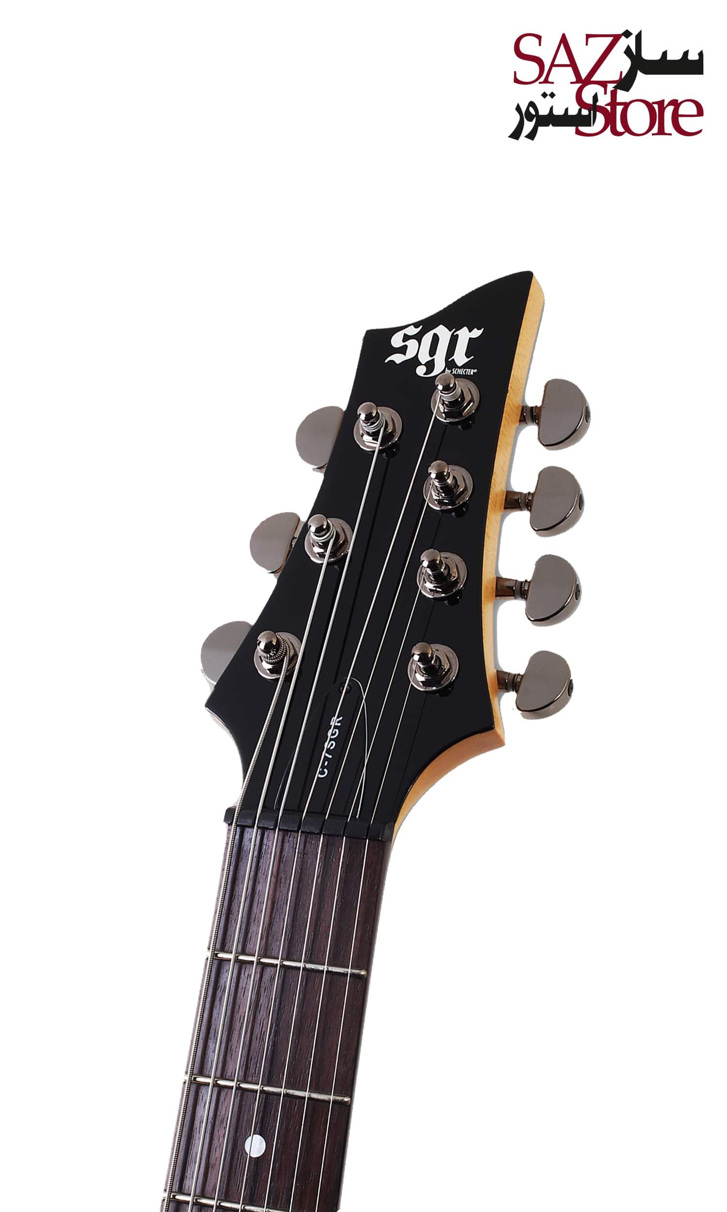 گیتار الکتریک Schecter SGR C-7 BLK