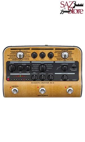 مولتی افکت گیتار آکوستیک Zoom AC-3